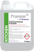 Foaming Sanitiser & Cleaner - 5L