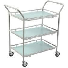 3 shelf gp trolley