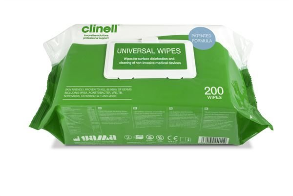 Clinell Universal Wipes - 200