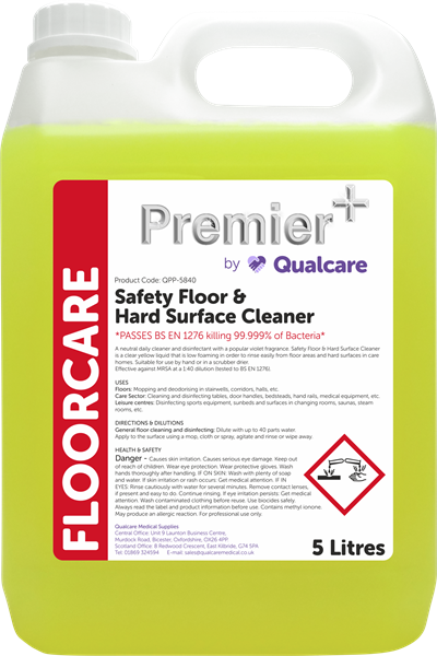 Safety Floor & Hard Surface Cleaner - 5L